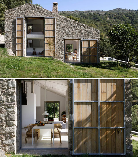 Amazing Concrete House Plan For A Rustic Forest Home In: England House Plans Blog